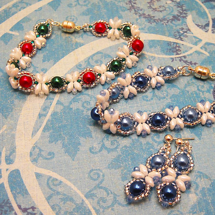 m2Super Dup Bracelet & Earings 1
